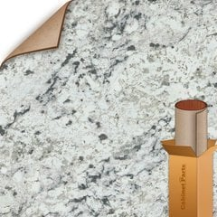 25% OFF 5 ft. x 12 ft. Countertop Grade Laminate Sheet - Matte Finish White Ice Granite