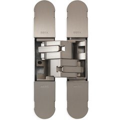 3D Invisible Hinge 134x24mm - Model 1130 - Satin Nickel Plated