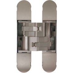 3D Invisible Hinge 160x32mm - Model 1131 - Satin Nickel Plated
