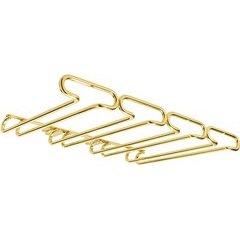 11 Inch Under Cab Quad Stemware Holder - Brass