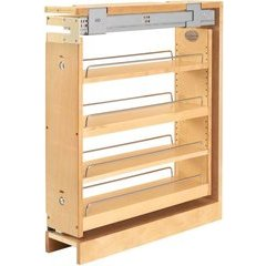 Rev A Shelf 6 Inch Wood Pullout Base Organizer With Top