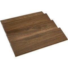 18 Inch Spice Drawer Insert - Walnut