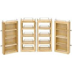 Swing Out Pantry Kit - Natural Wood