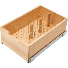 14 Inch Soft Close Tall Pullout Drawer