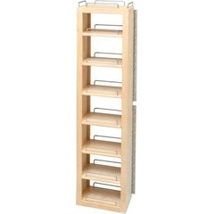 57 Inch Internal Swing Out Pantry Only - Natural Wood