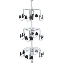 3 Tier Men's Shoezen - Chrome