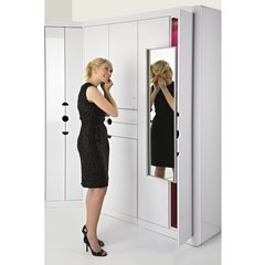 Soft Close Pullout Closet Mirror