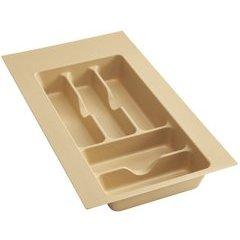Small Cutlery Drawer Organizer - Almond