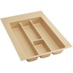 Medium Polymer Utility Tray - Almond