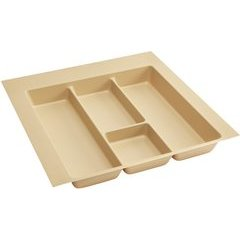 Extra Large Polymer Utility Tray - Almond