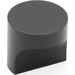 Haniburton 1-1/4 Inch Diameter Round Matte Black Cabinet T-Knob