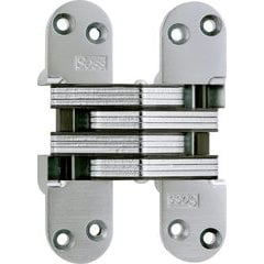 #220 Invisible Hinge Satin Chrome