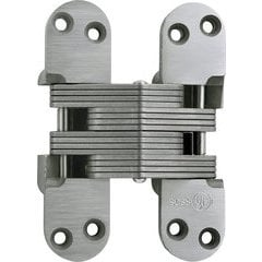 SOSS #220 Invisible Hinge Satin Stainless Steel