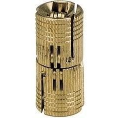 Solid Brass Barrel Hinge 12mm