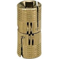 Solid Brass Barrel Hinge 14mm
