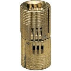 Solid Brass Barrel Hinge 24mm