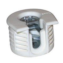 Series 6 RTA Klix Lock Connector Drop On 16mm - White (20 Pack)