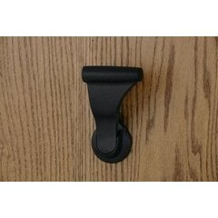 SOSS UltraLatch for 1-3/4 Inch Door Fire Rated Textured Black
