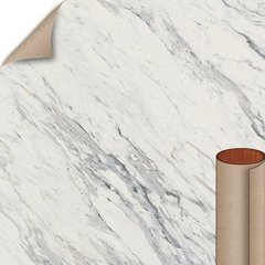 Calcutta Marble Textured Gloss Finish 5 ft. x 12 ft. Countertop Grade Laminate Sheet