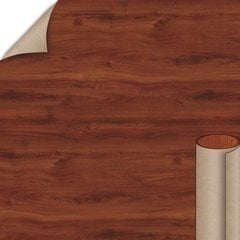 Windsor Mahogany Fine Grain Finish 4 ft. x 8 ft. Peel/Stick Vertical Grade Laminate Sheet