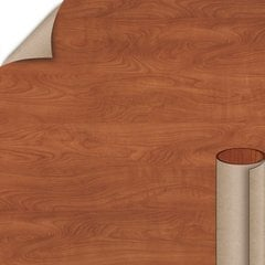 Wilsonart Wild Cherry Matte Finish 4 ft. x 8 ft. Peel/Stick Vertical Grade Laminate Sheet 7054-60-735-48X096
