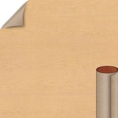 Fusion Maple Matte Finish 4 ft. x 8 ft. Peel/Stick Vertical Grade Laminate Sheet