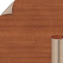 Wilsonart Amber Cherry Fine Grain Finish 4 ft. x 8 ft. Peel/Stick Vertical Grade Laminate Sheet 7919K-78-735-48X096