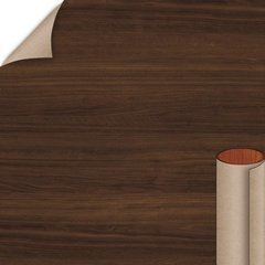 Columbian Walnut Textured Gloss Finish 4 ft. x 8 ft. Vertical Grade Laminate Sheet