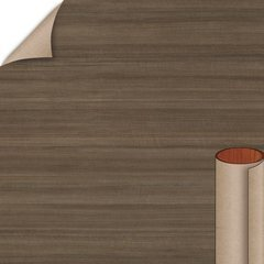 Studio Teak Linearity Finish 4 ft. x 8 ft. Vertical Grade Laminate Sheet