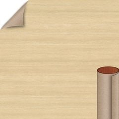 Raw Chestnut Soft Grain Finish 4 ft. x 8 ft. Peel/Stick Vertical Grade Laminate Sheet