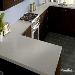 Wilsonart Beige Pampas Matte Finish 4 ft. x 8 ft. Peel/Stick Vertical Grade Laminate Sheet 4170-60-735-48X096