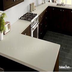 Wilsonart Cafe Creme Matte Finish 4 ft. x 8 ft. Vertical Grade Laminate Sheet D456-60-335-48X096