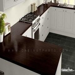 Wilsonart Cocobala Textured Gloss Finish 4 ft. x 8 ft. Peel/Stick Vertical Grade Laminate Sheet 7942K-07-735-48X096