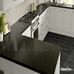 Wilsonart Ebony Fusion Textured Gloss Finish 5 ft. x 12 ft. Countertop Grade Laminate Sheet 1799K-07-350-60X144