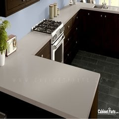Wilsonart Haze Matte Finish 4 ft. x 8 ft. Peel/Stick Vertical Grade Laminate Sheet D97-60-735-48X096