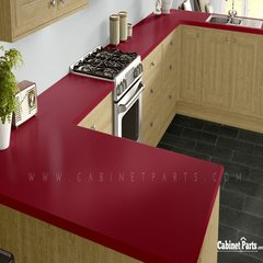 Wilsonart Holly Berry Matte Finish 4 ft. x 8 ft. Vertical Grade Laminate Sheet D307-60-335-48X096