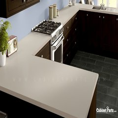 Wilsonart Light Beige Matte Finish 4 ft. x 8 ft. Vertical Grade Laminate Sheet 1531-60-335-48X096