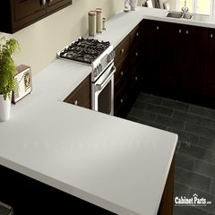 Wilsonart Linen Matte Finish 4 ft. x 8 ft. Peel/Stick Vertical Grade Laminate Sheet D427-60-735-48X096