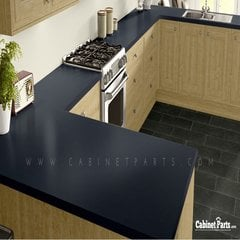 Wilsonart Navy Legacy Matte Finish 4 ft. x 8 ft. Countertop Grade Laminate Sheet 4651-60-350-48X096