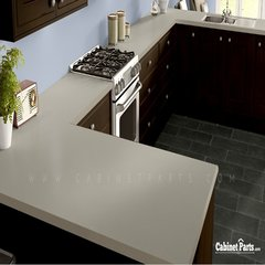 Wilsonart Neutral Glace Matte Finish 4 ft. x 8 ft. Peel/Stick Vertical Grade Laminate Sheet 4143-60-735-48X096