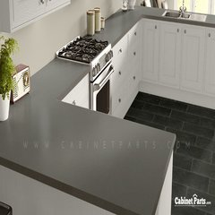Wilsonart Nickel EV Matte Finish 5 ft. x 12 ft. Countertop Grade Laminate Sheet 4813-60-350-60X144