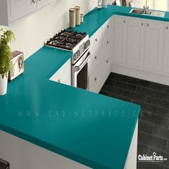 Wilsonart Ocean Matte Finish 4 ft. x 8 ft. Countertop Grade Laminate Sheet D502-60-350-48X096