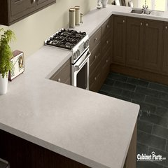 Wilsonart Organic Cotton Fine Velvet Texture Finish 4 ft. x 8 ft. Countertop Grade Laminate Sheet 4945-38-350-48X096