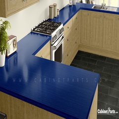 Wilsonart Persian Blue Linearity Finish 5 ft. x 12 ft. Countertop Grade Laminate Sheet D26K-18-350-60X144