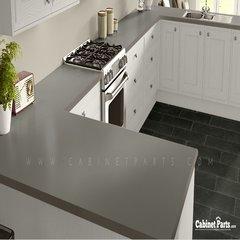 Wilsonart Pewter Mesh Fine Velvet Texture Finish 5 ft. x 12 ft. Countertop Grade Laminate Sheet 4878-38-350-60X144