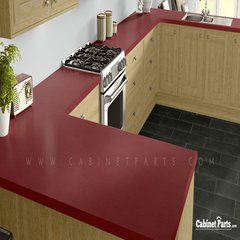 Wilsonart Pomegranate Matte Finish 4 ft. x 8 ft. Countertop Grade Laminate Sheet 4914-60-350-48X096