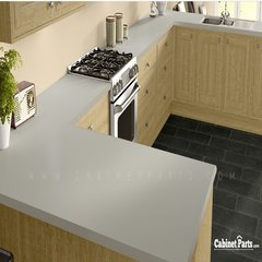 Wilsonart Putty Matte Finish 5 ft. x 12 ft. Countertop Grade Laminate Sheet 1503-60-350-60X144