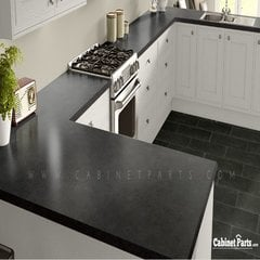 Wilsonart Salentina Nero HD Glaze Finish 4 ft. x 8 ft. Countertop Grade Laminate Sheet 1864K-55-376-48X096