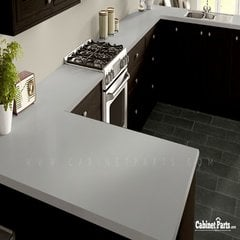 Wilsonart Shadow Zephyr Matte Finish 4 ft. x 8 ft. Countertop Grade Laminate Sheet 4857-60-107-48X096