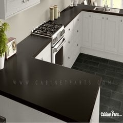 Wilsonart Slate Grey Matte Finish 5 ft. x 12 ft. Countertop Grade Laminate Sheet D91-60-350-60X144